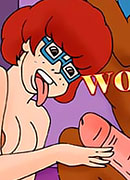 Daphne Blake feels dong then gets whipped hard