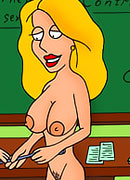 Hot Lois Griffin on the table