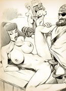 Horny Velma with beautiful body pleasuring enormous dick and getting soaked in warm cumload