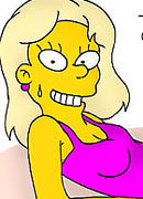 Janey plays with Bart Simpson till gets her snatch railed