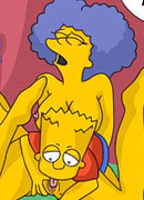 Lisa Simpson gets stuffed hard and gets mouthful of cum