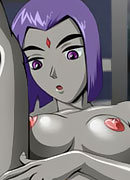 Blackfire with amazing body gets exploited and gets her ass screwed by Fixit's penis