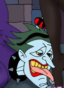 Horny Harley Quinn gets a lesson and gets ripped hard