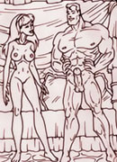 Giganta is railed in slit by dick