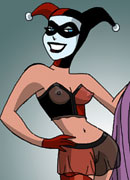 Harley Quinn gets a lesson and gets ripped hard by Firefly
