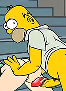 Nymph Mrs. Krabappel rubs her cunt and reaches intense orgasm