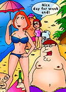 Lois are sucked before her anus and slit get fingered