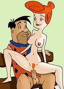 Dizzy Betty Rubble with lissom body gets toyed with