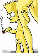 Lisa Simpson shows striptease and gets banged by Martin again and again
