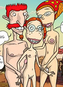 Cockcrazed Eliza Thornberry swallows Frank and eats cum